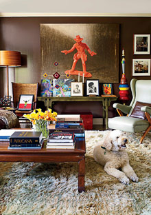 Peggy Cooper Cafritz family room