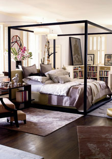 Peggy Cooper Cafritz bedroom