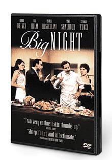 Big Night DVD