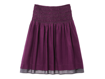 Purple Gap skirt