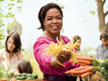 Oprah at the farmers' market
