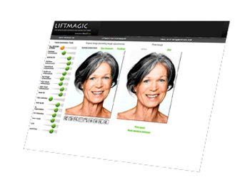 Lift magic virtual makeovers