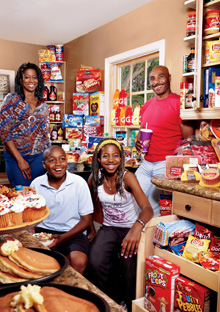 The Lewis-Battey family