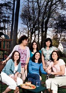 Gerry Arango, Stacey O'Rourke, Heather Haggerty, Margaret Ewing, Erin Lopes, Corninda Crowther