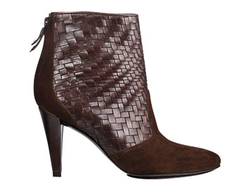 Cole Haan woven ankle boots