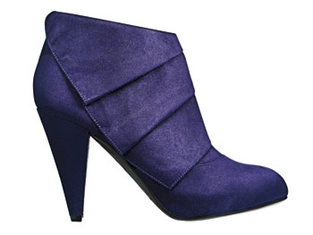 Payless microsuede ankle boots