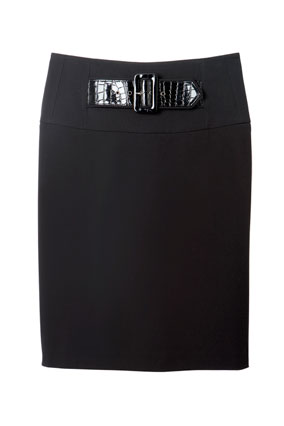 Lane Bryant black skirt