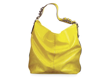 Chinese Laundry yellow bag