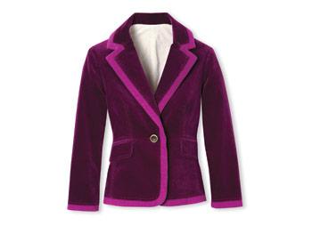 Diane von Furstenburg purple blazer
