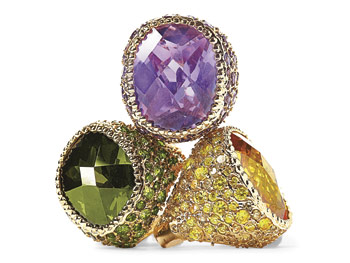Iman Global Chic rings