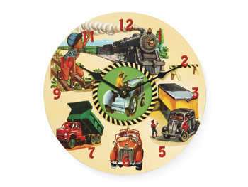 Kisha Kids Childrens Clock