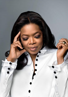 Oprah Winfrey, September issue of O, The Oprah Magazine
