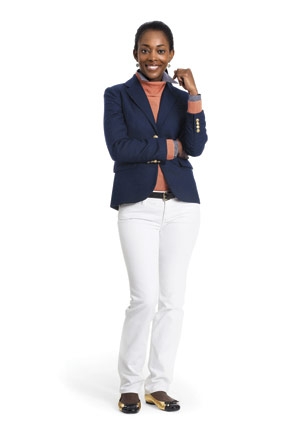 J Crew navy blazer for weekend