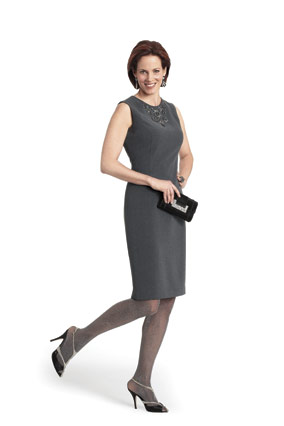 Jones New York gray dress