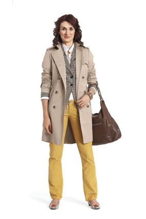 Trench coat weekend outfit