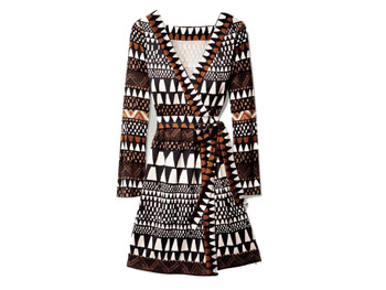 Diane von Durstenberg wrap dress