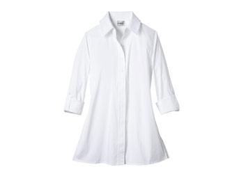 Chicos crisp button down shirt