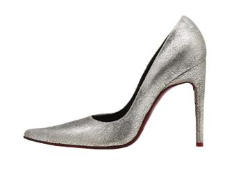 Mink vegal silver heel