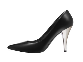 Kenneth Cole New York Silver Edition pumps