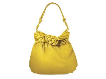 Nicole Lee yellow bag