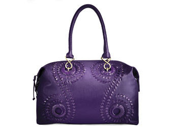Mariposa by Sharif Studio purple bag