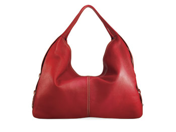 Coldwater Creek red hobo bag