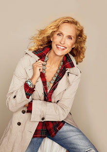 Lauren Hutton in O, the Oprah Magazine