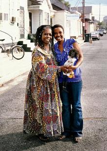 Rukiya Brown and Brigitte Nyampinga