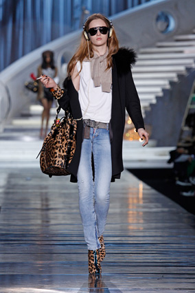 Acid-washed jeans from Dsquared