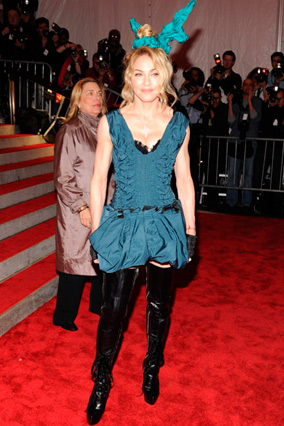Madonna at the Costume Institute