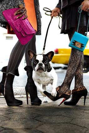 Casadei boots - Christian Louboutin booties