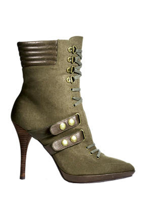 Nine West Military Boots