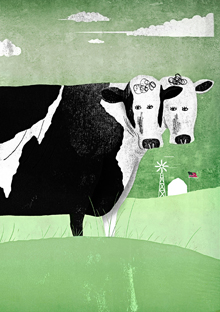 Cows and food technology