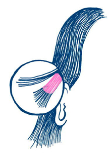 Hair dye strand test