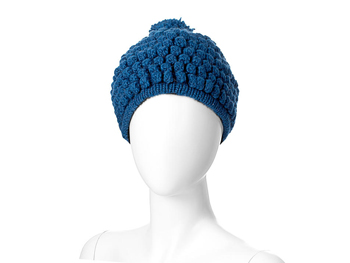 Aerie blue popcorn winter hat