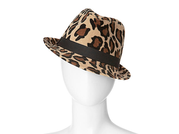 Xhilaration cheetah fedora