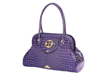 Purple Iman satchel