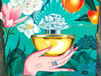 Olak Kurhajek perfume illustration