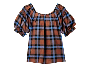 The Limited Plaid top