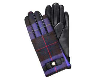 Liz Claiborne plaid gloves