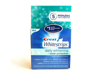 Crest Whitestrips Daily Whitening + Tartar Protection