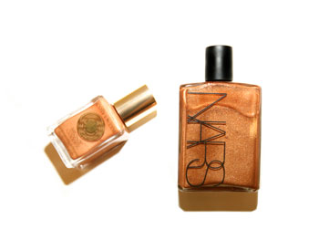 Estee Lauder Luminous Liquid Bronzer and Nars Body Glow