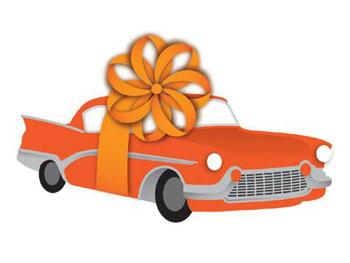 A car as a present
