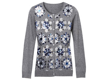 Michael Simon Snowflake Sweater