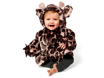Bearington Baby Collection Giraffe Couture coat