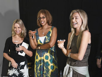 Gayle King, Susan Casey and Portia Rossi and the O, the Oprah Magazine December cover shoot