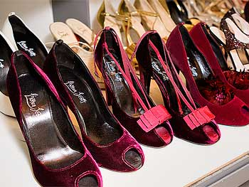 Shoes from Oprah and Ellen's O Magazine cover shoot
