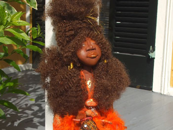 Rukiya Brown dolls