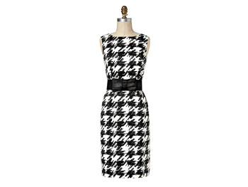 Pen and ink print Target holiday dress