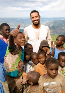 Barton Brooks in Uganda